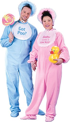 Be My Baby - Jammies - Adult Couples Costume