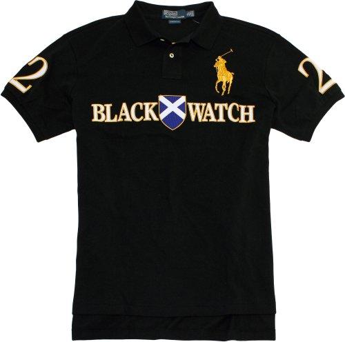 Polo Ralph Lauren Men\u0027s Black Watch Polo Shirt (Large)