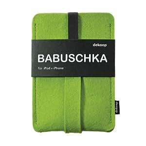 dekoop Handyhülle - Babuschka groß - lime
