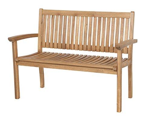 Siena Garden 120509 2er Bank Paleros Akazienholz FSC® 100% Beschläge aus galvanisiertem Stahl