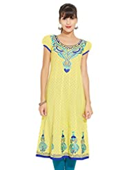 LOVELY LADY Ladies Cotton Solid KURTI - B00ZCC7YGO