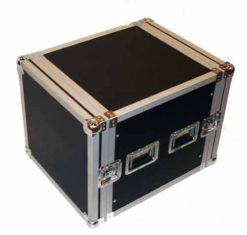 Seismic Audio - 10 SPACE RACK CASE for Amp Effect