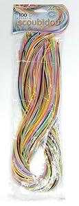 Scoubidou 100 Assorted Colour Strands