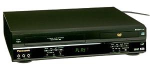 Panasonic PV-D4743K Progressive-Scan DVD-VCR Combo , Black