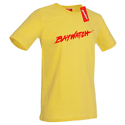Officially Licensed Baywatch TV Show Tellow Tee Shirt