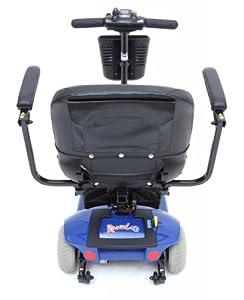 Mega Motion Travel Pro Blue Scooter