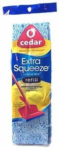 Amazon Com O Cedar Extra Squeeze Sponge Mop Refill