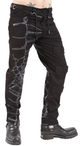 Dead Threads Mens Studded Web Trousers W36