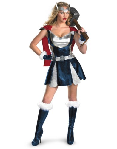 Disguise Women's Marvel Thor Girl Sassy Costume