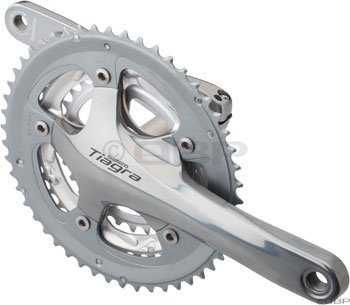 Shimano FC-4500 Tiagra Crankset Hollowtech II (165-mm 50/39/30T 9 Speed)