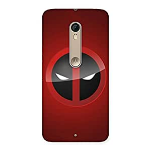 Ajay Enterprises Dengerus Eyes Back Case Cover for Motorola Moto X Style