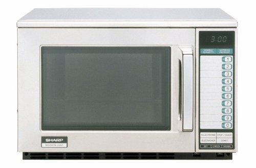 Microwave Oven, Stainless Steel, 0.7 Cu Ft, 1600 Watt, 230Vac