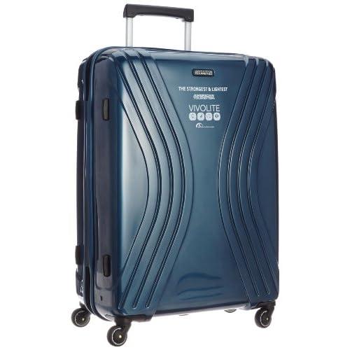 [アメリカンツーリスター] AmericanTourister VIVOLITE  /  ビーボライト スピナー75cm (スーツケース・キャリーケース・トラベルバッグ・TSAロック装備・大容量・軽量・ジッパー・ポリプロピレン・保証付)