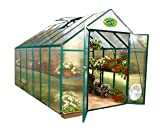Search : Systems Trading EG45812 Backyard Hobby Greenhouse, Green, 8 By 12 Feet