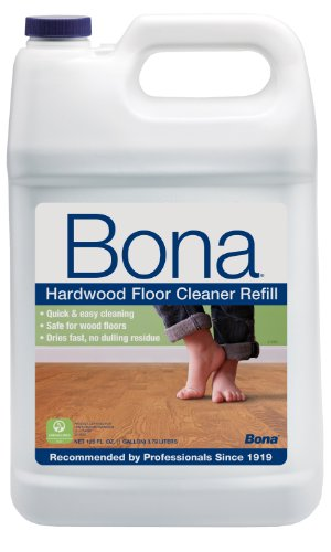 Bona Hardwood Floor Cleaner Refill, 128-Ounce