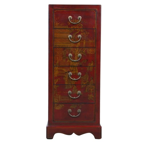 Exp handmade oriental furniture 36 inch antique style red for Antique chinese furniture styles