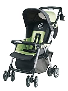 Peg Perego Aria Light Weight One Hand Fold Stroller in Mint