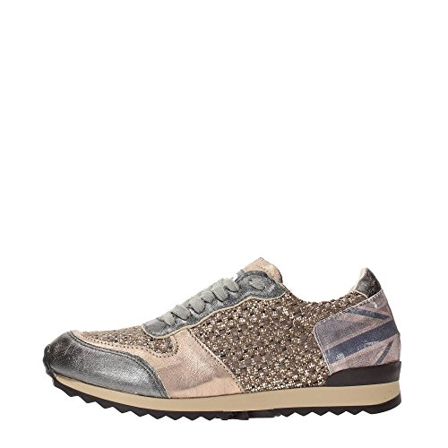 Y NOT - Scarpe donna SNEAKERS - Stampa bandiera UK (38)