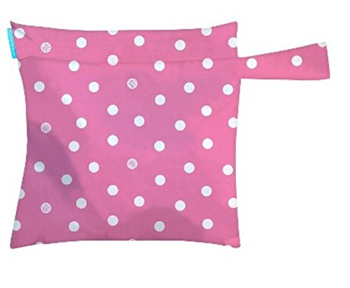 Charlie Banana Multi Purpose Wet Bag - Pink With Dots - 1