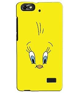 EU4IA TWEETY MATTE FINISH 3D MATTE FINISH Back Cover Case For Huawei Honor 4c...