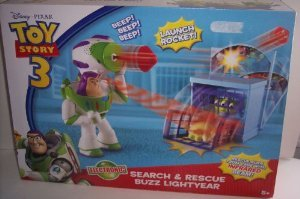 Disney / Pixar Toy Story 3 Exclusive Electronic Search Rescue Buzz Lightyear