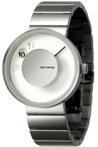 Issey Miyake Unisex Vue Watch IM-SILAV001 With Stainless Steel Band