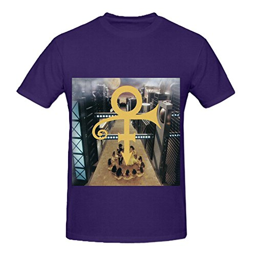 prince-the-new-power-generation-mens-crew-neck-funny-shirts-purple