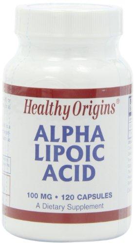海外直送品 Healthy Origins Alpha Lipoic Acid, 120 Caps 100MG