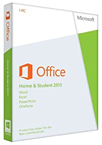 Office Home and Student 2013 English (1PC/1User) (PC Key Card)