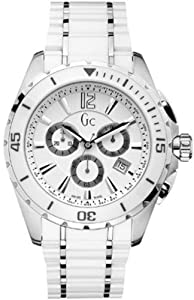 GUESS Men's Gc Sport Class XXL Ceramic Timepiece