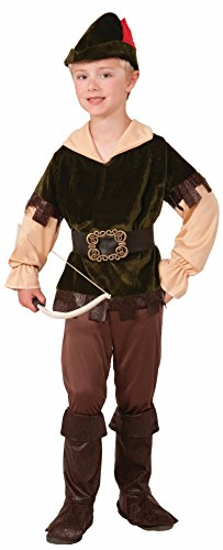Child Archer Woodsman Robin Hood Renaissance Costume, Large