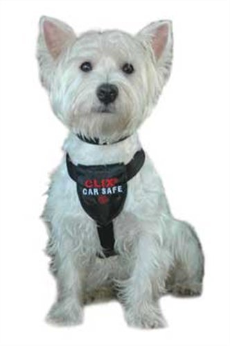 """Clix Car Safe Dog Harness Size: Extra Small (14-25.5"""" G ) front-42259"""