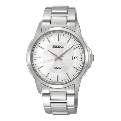 Seiko Men'S Sgef49 Stainless Steel Bracelet Watch