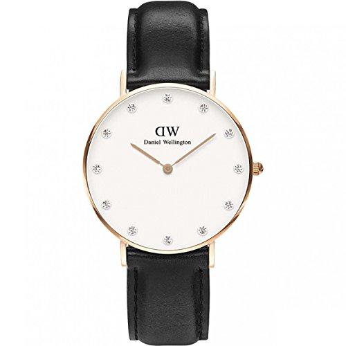 Daniel Wellington 0951Dw Ladies Classy Sheffield 34Mm Rose Gold Watch
