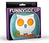 Funny Side Up Owl Shaped Egg Mold Novelty Egg Ring