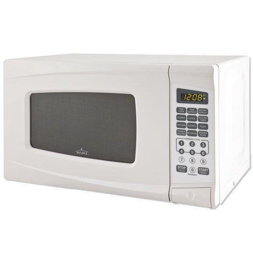 Rival Microwave Oven 0.7 Cu Ft, White (Microwave Oven Small $30 compare prices)
