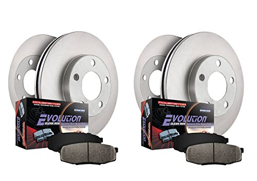 Autospecialty KOE2166 1-Click OE Replacement Brake Kit