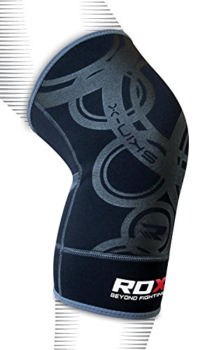 Authentic RDX Neoprene Brace Knee Support MMA Pad Guard Protector Gel Sports Work Foam Cap (SINGLE ITEM)