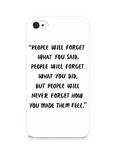 AMEZ people will forget what you said did Back Cover For Apple iPhone 4s