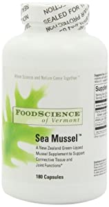 Food Science of Vermont Sea Mussel Joint Supplement Capsules, 180 Count