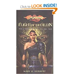 Flight of the Fallen (Dragonlance: Linsha Trilogy, Vol. 2) by Mary H. Herbert