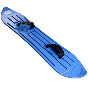 Blue Plastic Snowboard Fun Snow Winter Sport Sledge Boarding Adult/Children 8+