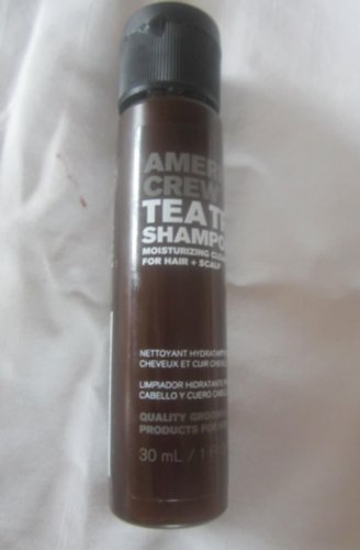 American Crew Tea Tree Shampoo Moisturizing Cleanser For Hair + Scalp 23258 1 Fl Oz