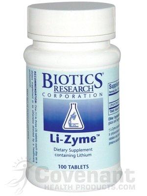 Biotics Research - Li-Zyme 100T