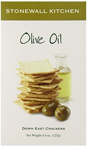 Stonewall Kitchen Olive Oil Crackers 4 4 Ounce Box Food Beverages Tobacco Food Items Cooking