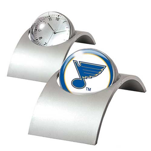 NHL St Louis Blues Spinning Desk Clock