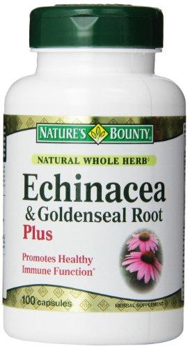 Nature S Bounty Echinacea Goldenseal Plus Capsules