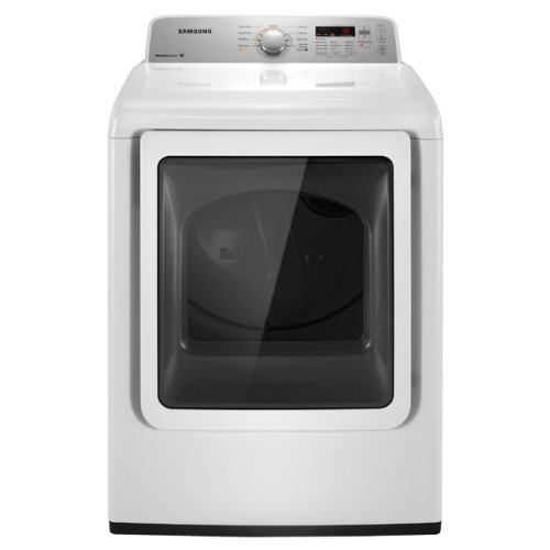 Samsung DV422EWHD 7.2 Cu. Ft. Electric Top Load Dryer with Sensor Dry and Glass Door, Neat White