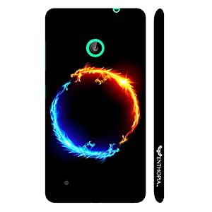 Nokia Lumia 530 I am Hot N' I am Cold designer mobile hard shell case by Enthopia