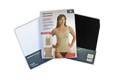 Seamless Damen-Form-Hemd Shirt extra formgebend figurenformend mit speziellen Modellierungszonen
